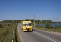ЛиАЗ-677М №5086 КХО на маршруті 9. Київська область, Яготин, дамба озера Супій