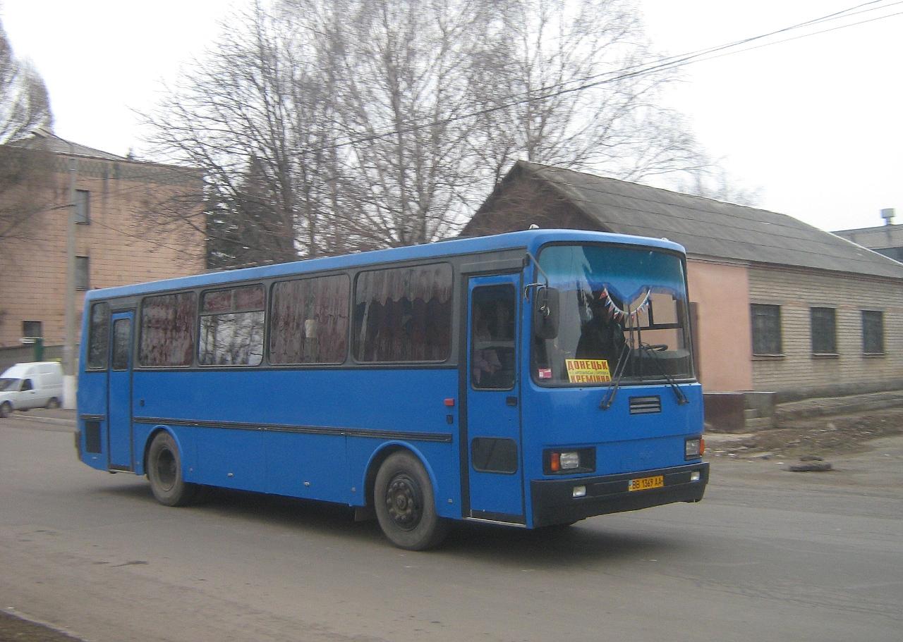 Тур-А146 №ВВ 1369 АА, маршрут Донецьк - Кремінна. Артемівськ