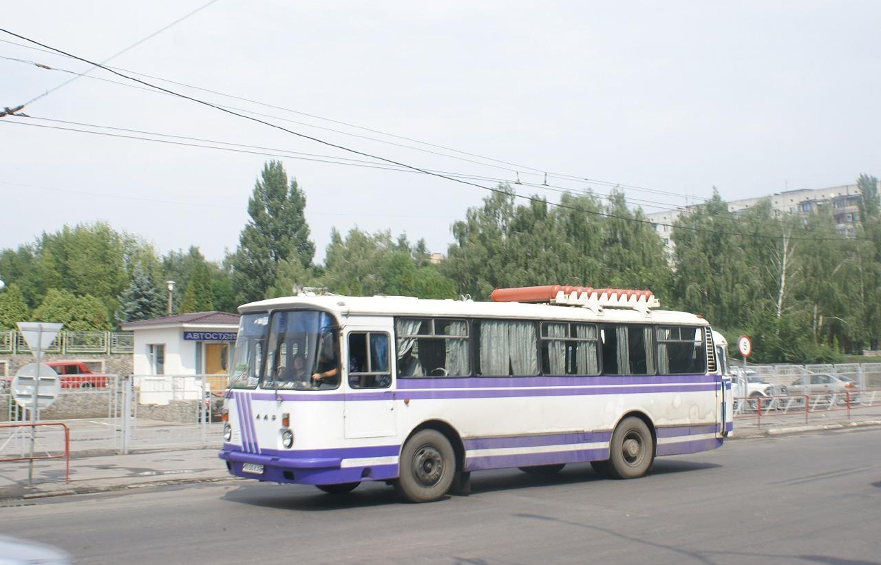 ЛАЗ-695Н №1000 КХБ(?), маршрут №22. Київська область, Біла Церква