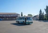 ЛАЗ-695Н №ВА 1241 АА, маршрут Гайворон - Бандурове. Кіровоградська область, Гайворон, привокзальна площа