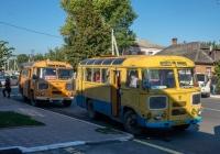 ПАЗ-672М №004-18 ОМ, маршрут Гайворон - Казавчин. Кіровоградська область, Гайворон