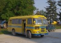ПАЗ-672М №047-01 ТЕ, маршрут Борщів - Бабинці. Тернопільська область, Борщів