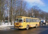 ЛиАЗ-677М №ВМ 0676 АА, маршрут Конотоп - Дептівка. Сумська область, Конотоп, привокзальна площа