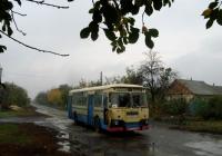 ЛиАЗ-677М №9506ДОЦ, маршрут №11. Донецька область, Красноармійськ(Покровськ), вул. Свободи