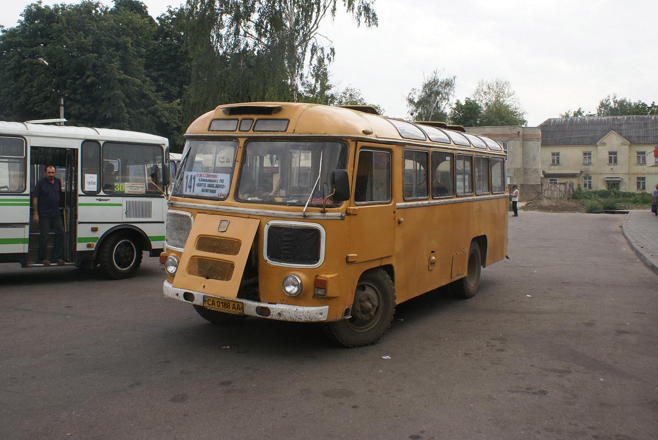 ПАЗ-672М №СА 0188 АА. Черкаська область, Сміла