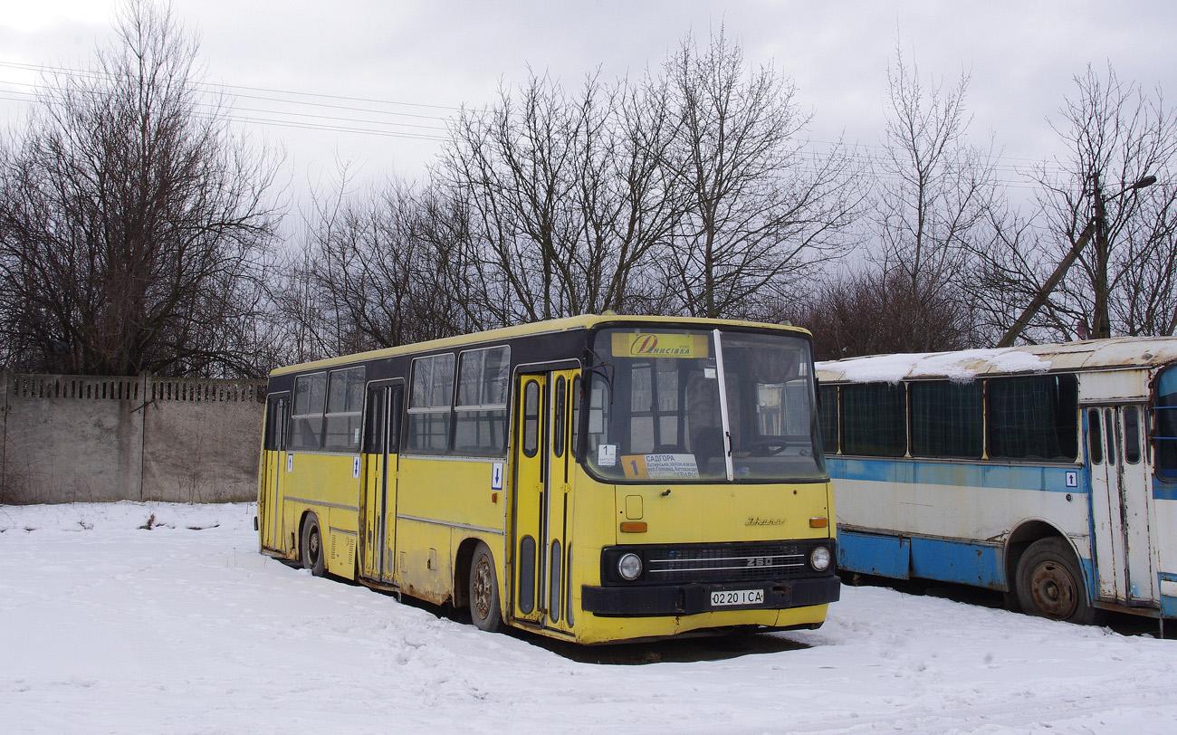 Ikarus-260 №0220 ІСА. Чернівці, АТП Денисівка