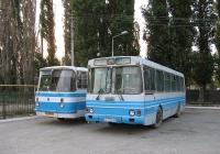 ЛАЗ-42021 №АК 7239 АВ, ЛАЗ-695Н(?) №АК 2330 АА. АРК, Армянськ