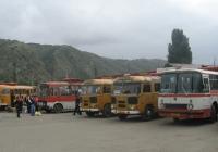 ПАЗ-672М, ЛАЗ-695Н №2584 L. Вірменія, марз Лорі, Ванадзор