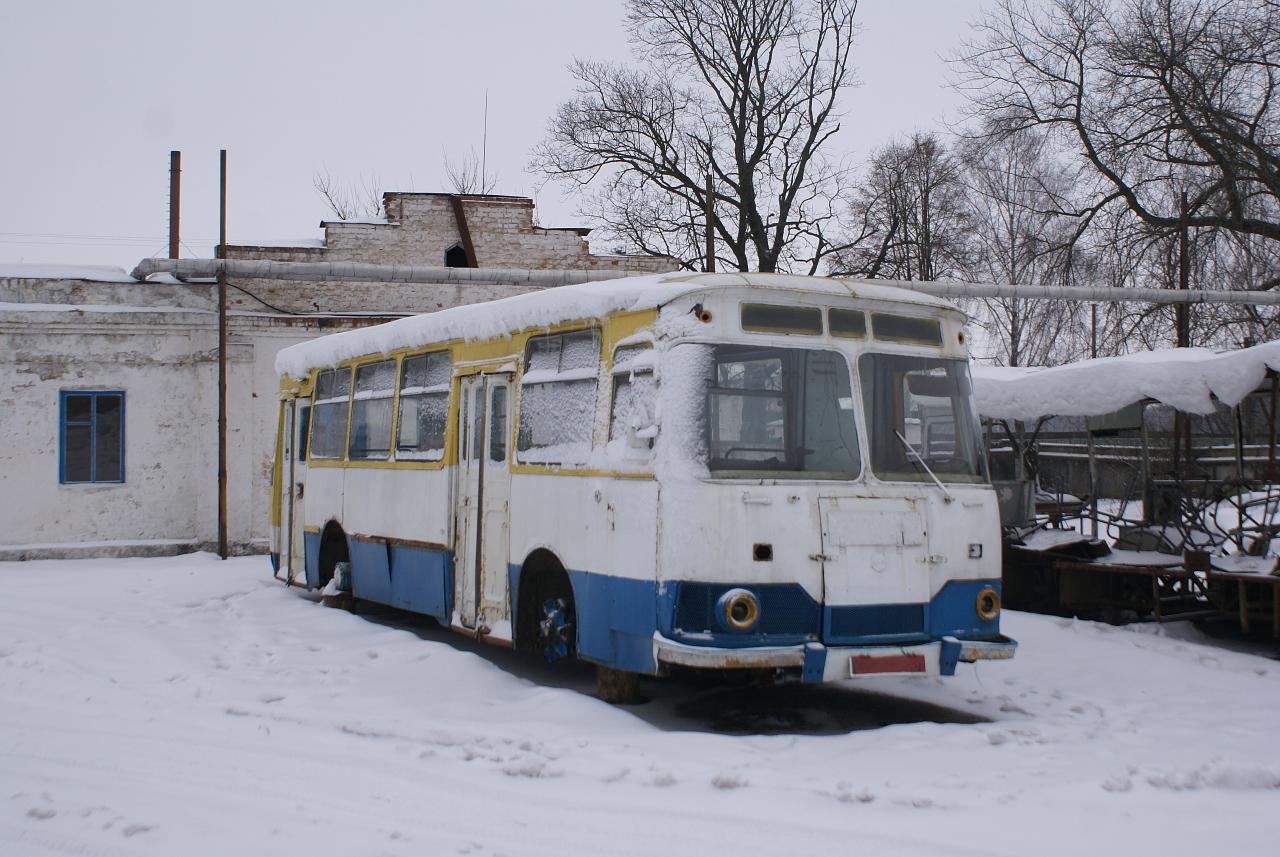 ЛиАЗ-677М. Чернігівська область, Городня, АТП