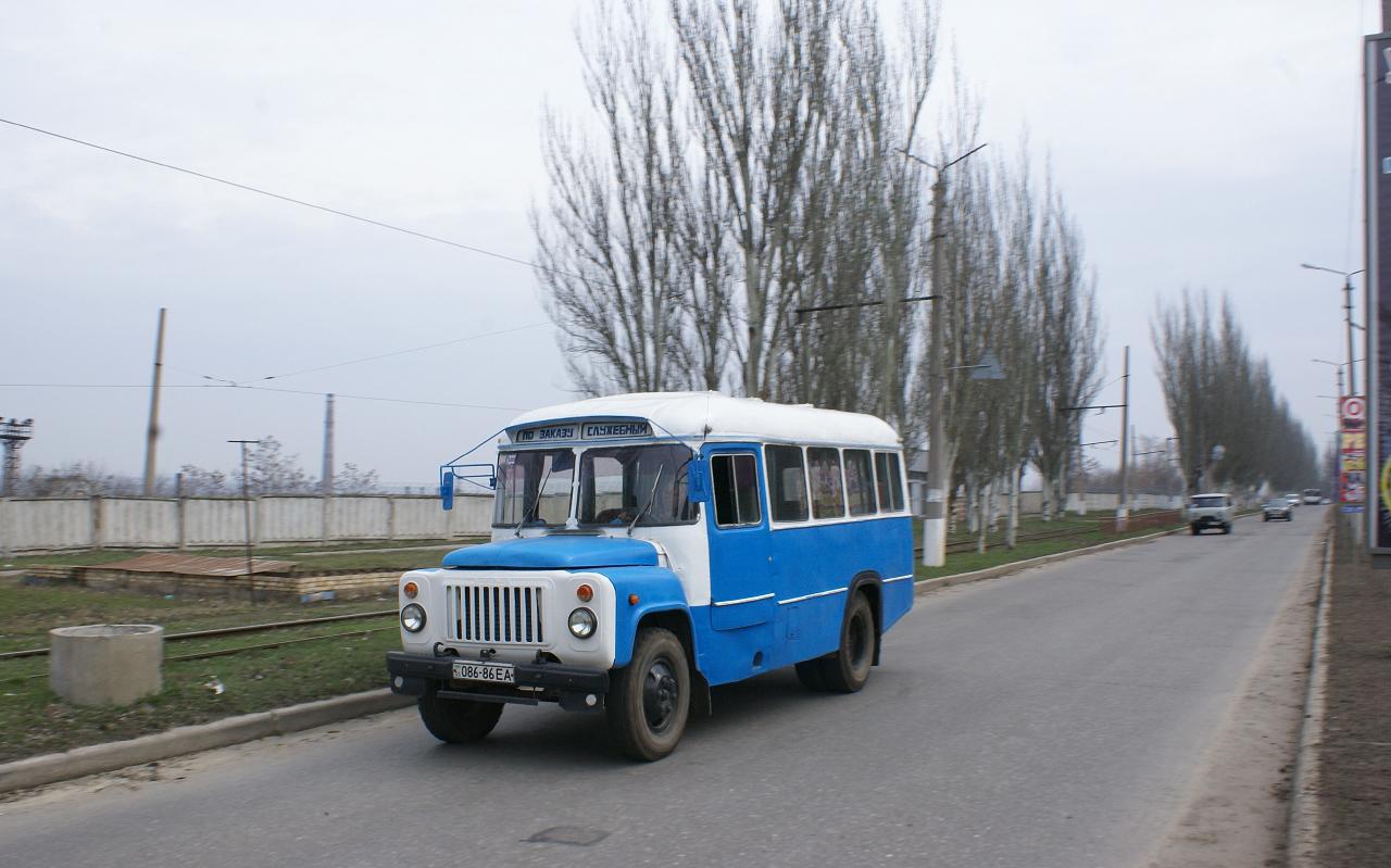 КаВЗ-685 №086-86 ЕА. Донецька область, Дружківка