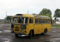 ПАЗ-672М №АХ 8249 АА, маршрут №2. Харківська область, Ізюм, привокзальна площа