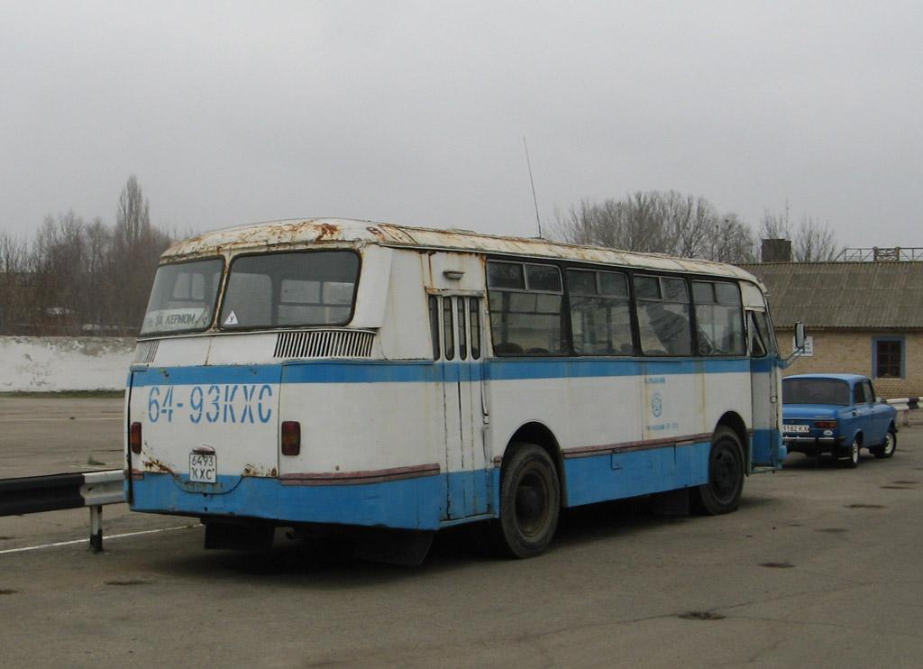 ЛАЗ-695М №6493 КХС. Київська область, Миронівка, автошкола ТСОУ
