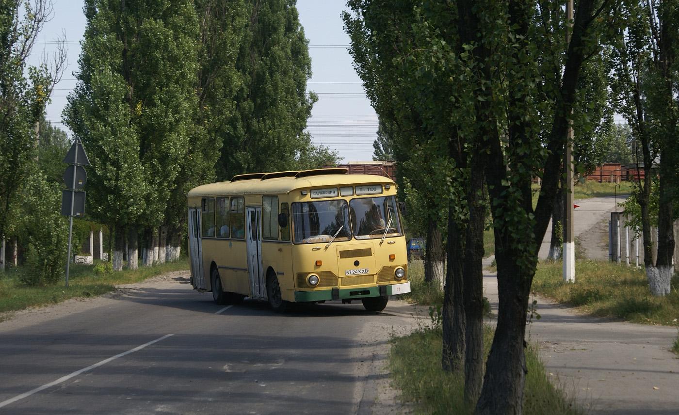 ЛиАЗ-677М №8724 КХВ. Київська область, Українка