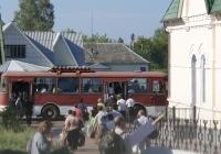 ЛиАЗ-677М. Житомирська область, Малинський район, с. Пристанційне, станція Чоповичі