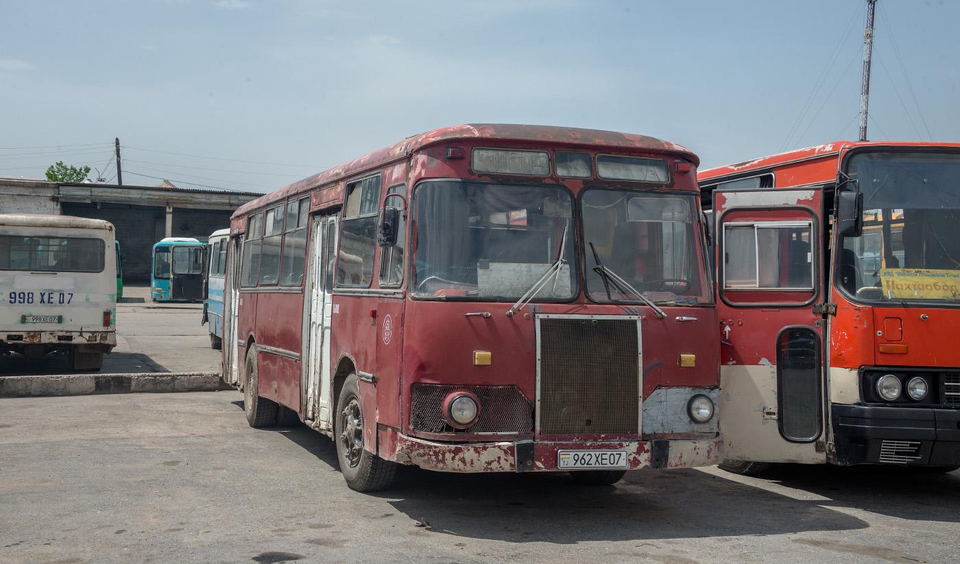 ЛиАЗ-677М #962 XE 07. Таджикістан, Турсунзаде