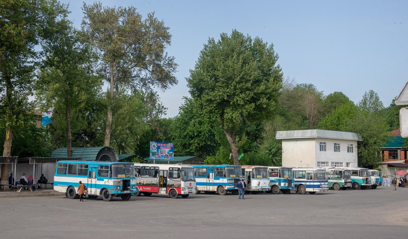 Таджикистан-3205, ЛАЗ-695Н, Кубань-Г1А1. Таджикістан, Турсунзаде