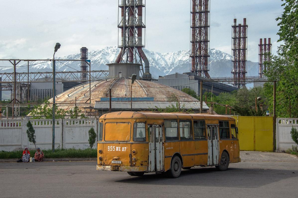 ЛиАЗ-677М №955 XE 07. Таджикістан, Турсунзаде