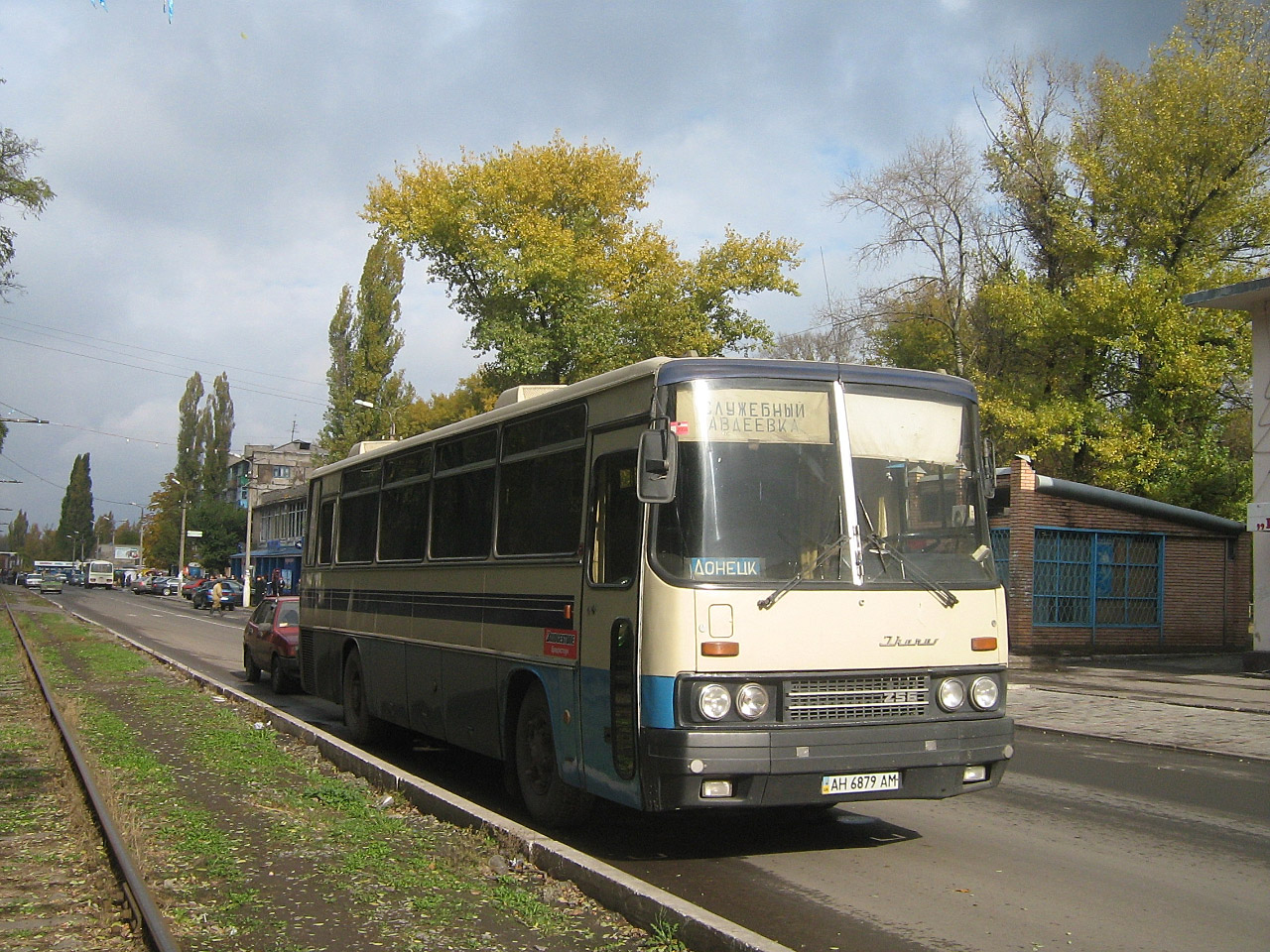 Ikarus-256 #АН 6879 АМ. Донецька область, Авдіївка