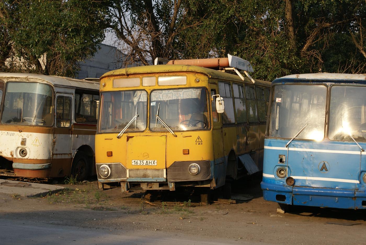 ЛиАЗ-677М №1635 ДНХ. Дніпропетровськ(Дніпро)