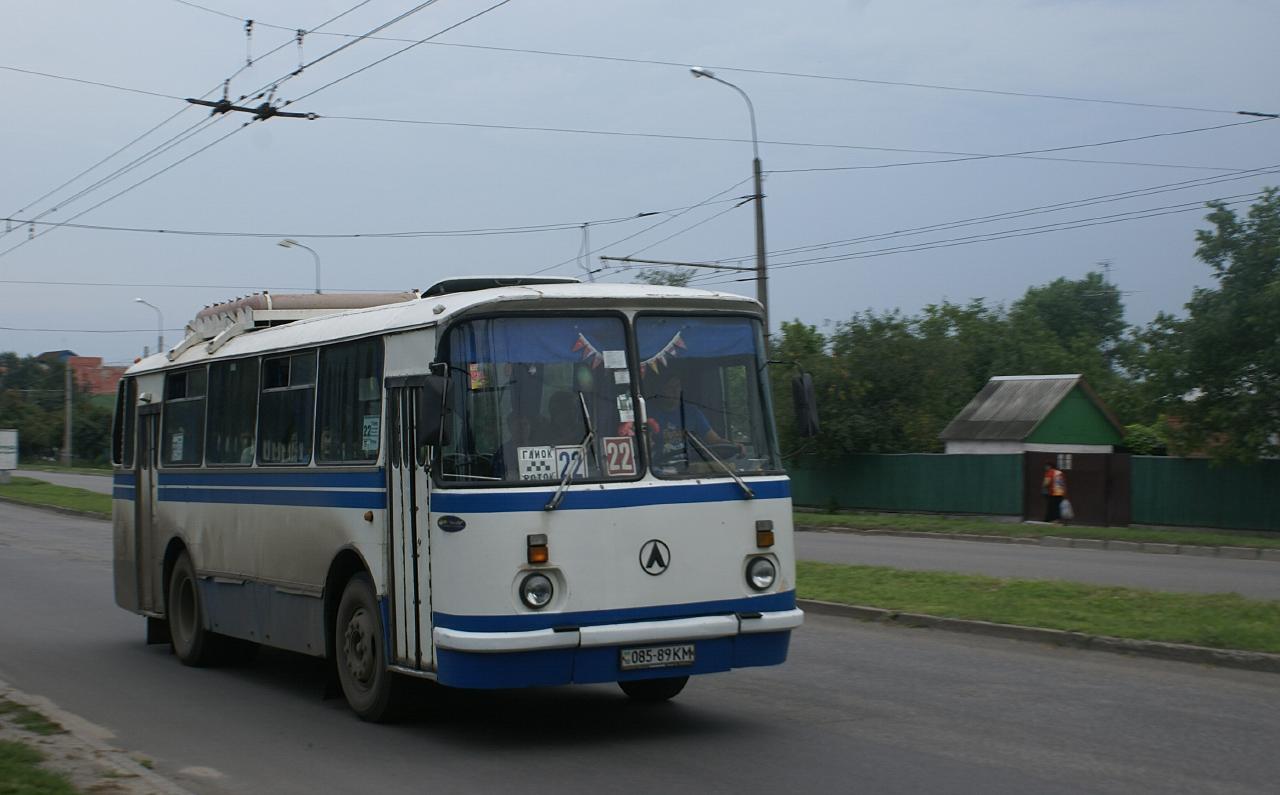 ЛАЗ-695Н №085-89 КМ. Київська область, Біла Церква