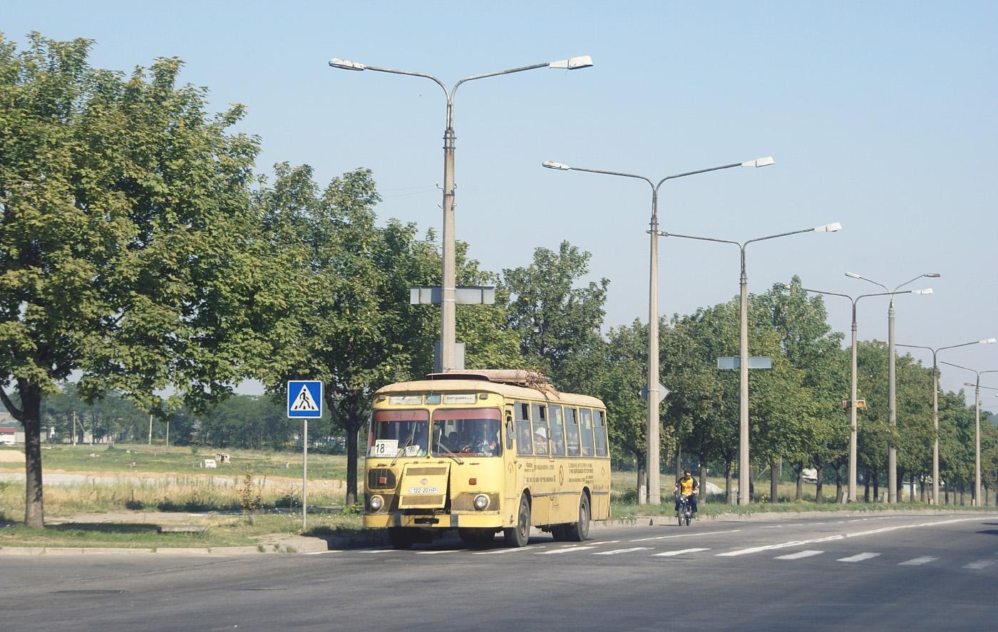 ЛиАЗ-677М №122-20 НР. Запоріжжя