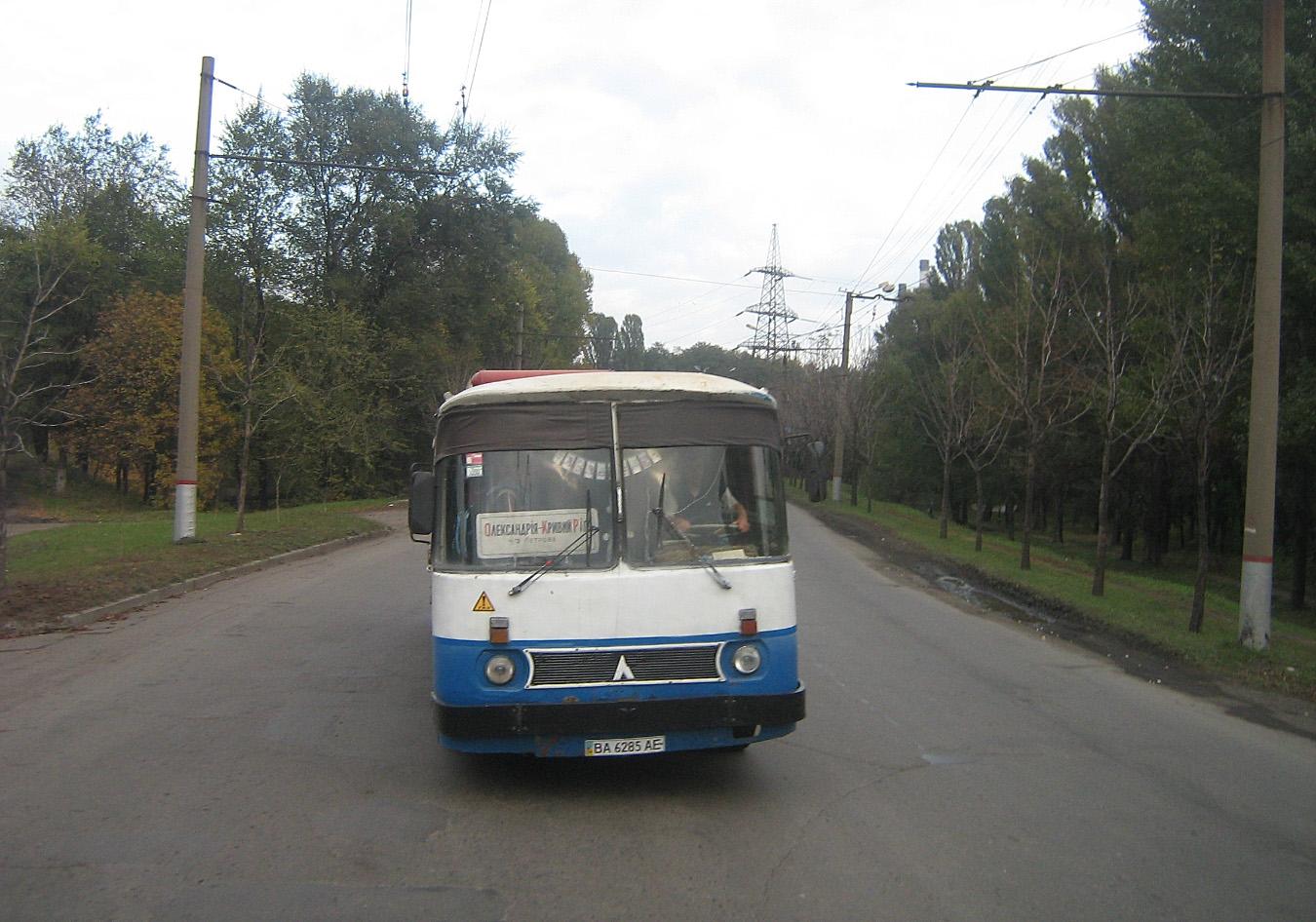 ЛАЗ-699Р №ВА 6285 АЕ. Дніпропетровська область, Кривий Ріг