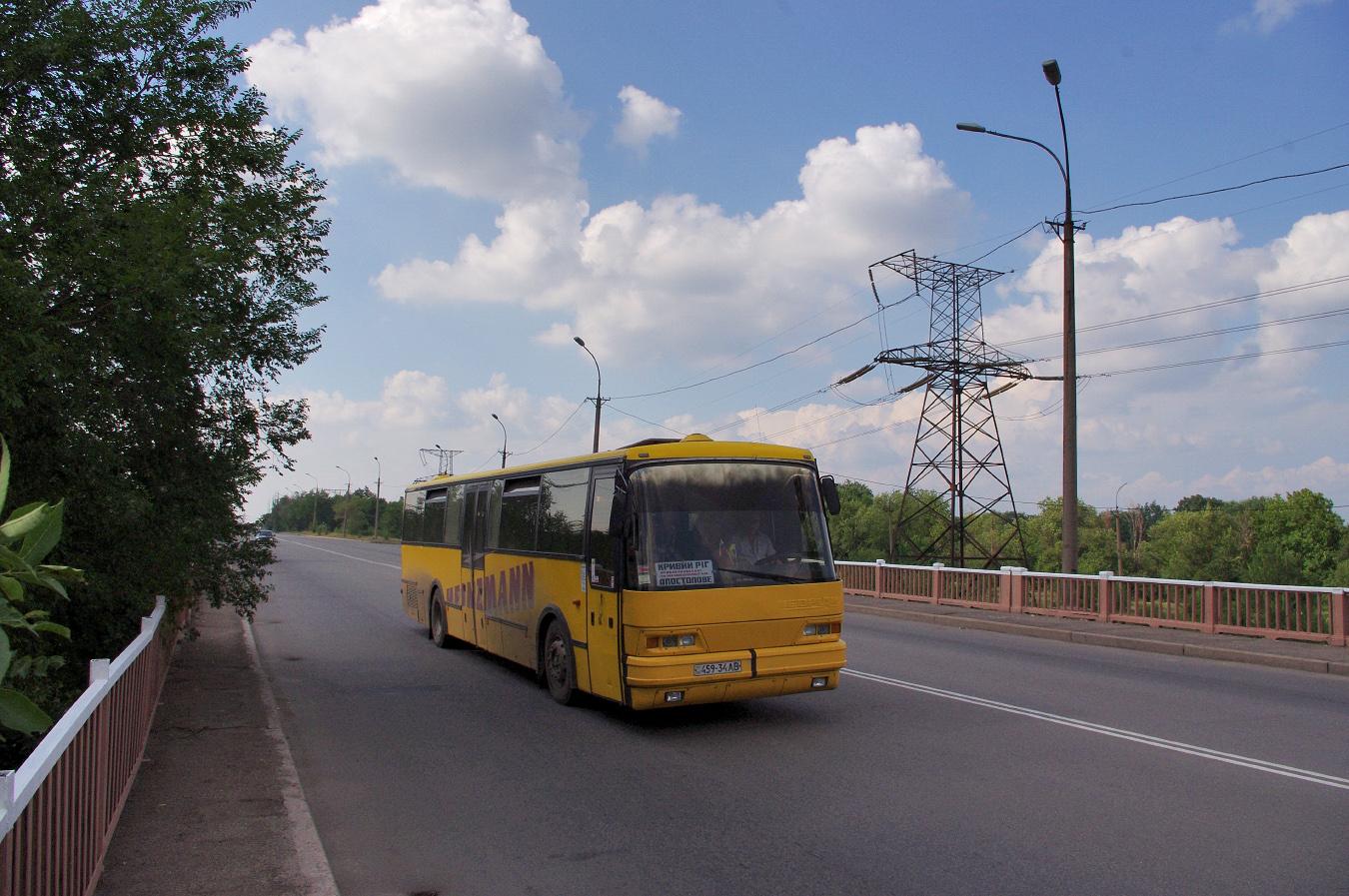Neoplan N316L №459-34 АВ. Дніпропетровська область, Кривий Ріг