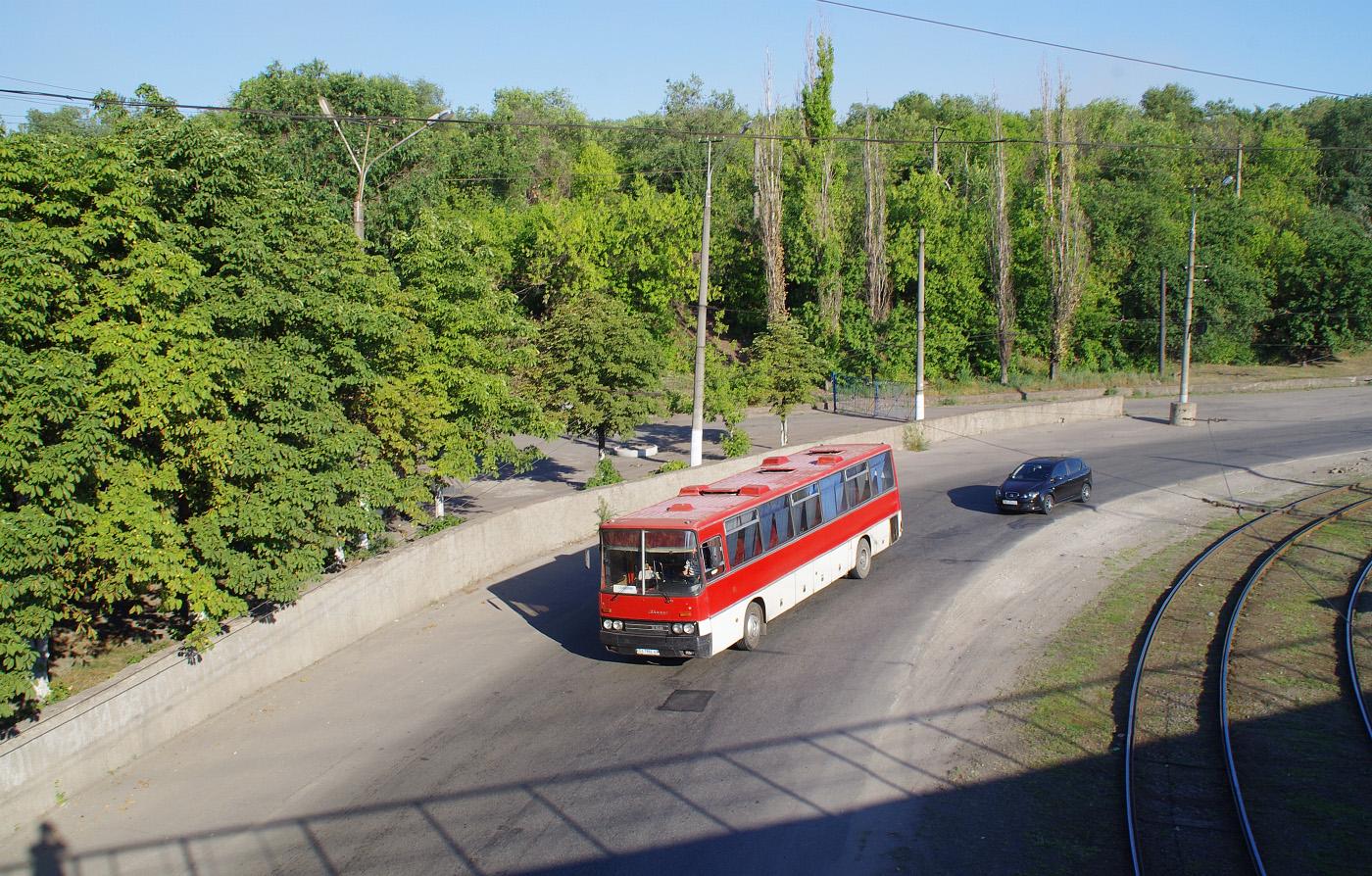 Ikarus-250 №ВА 7886 АА. Дніпропетровська область, Кривий Ріг