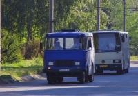 ТС-3965 №ВА 1967 АХ, ЛАЗ-4207 №АЕ 9444 АХ. Дніпропетровська область, Кривий Ріг