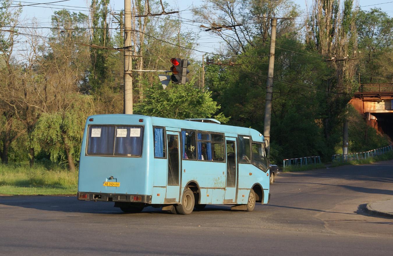Богдан А091 №АЕ 2424 АА. Дніпропетровська область, Кривий Ріг