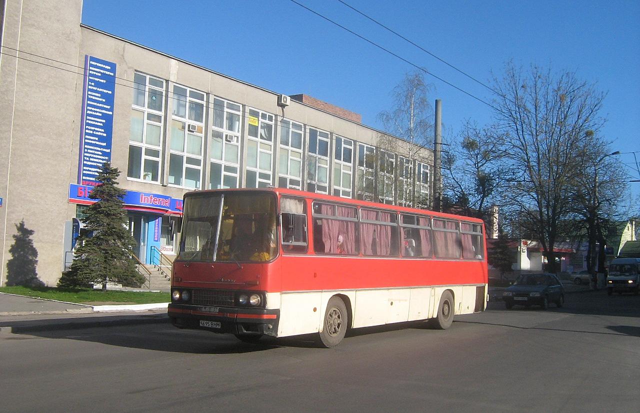 Ikarus-256 №4695 ВНМ. Волинська область, Луцьк