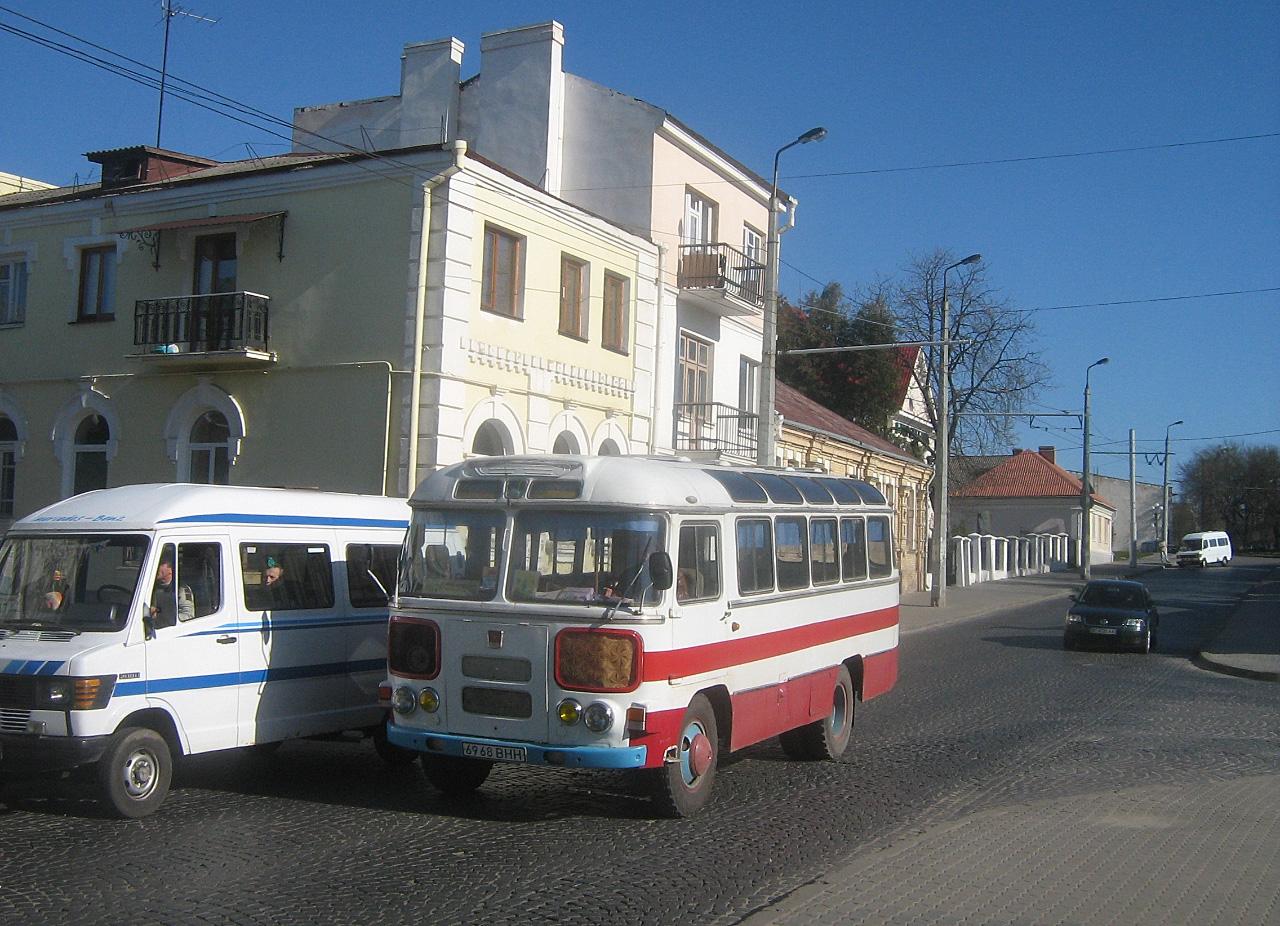 ПАЗ-672М №6968 ВНН. Волинська область, Луцьк