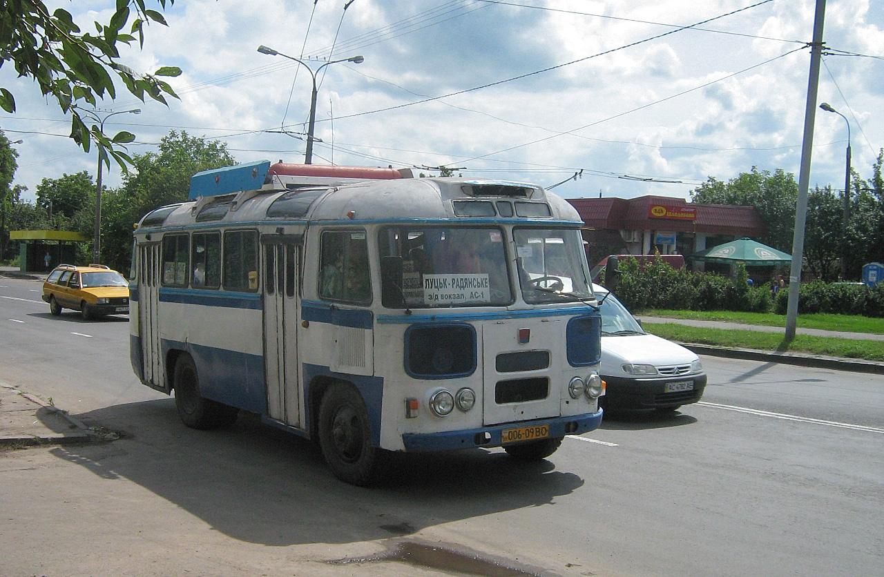 ПАЗ-672М №006-09 ВО. Волинська область, Луцьк