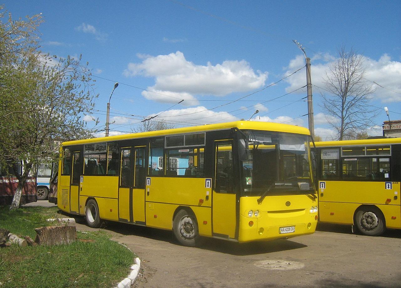 Богдан А144 №АА 4228 СК. Волинська область, Луцьк