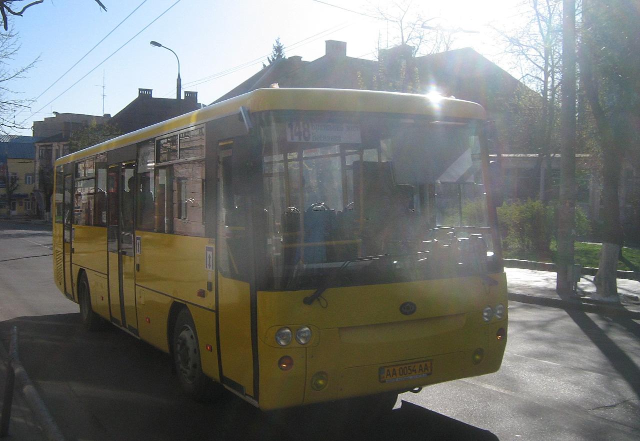 Богдан А144 №АА 0054 АА. Волинська область, Луцьк