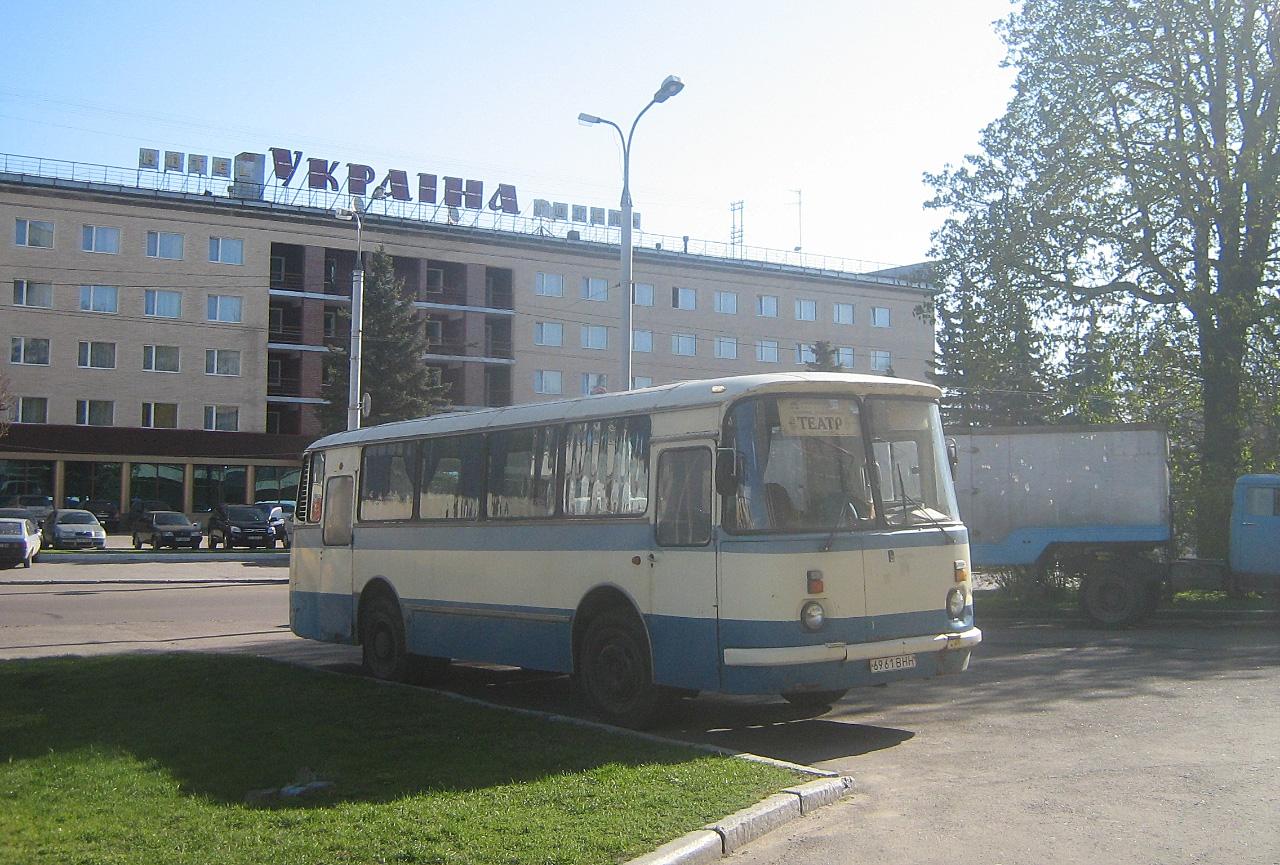 ЛАЗ-695Н №6961 ВНН. Волинська область, Луцьк