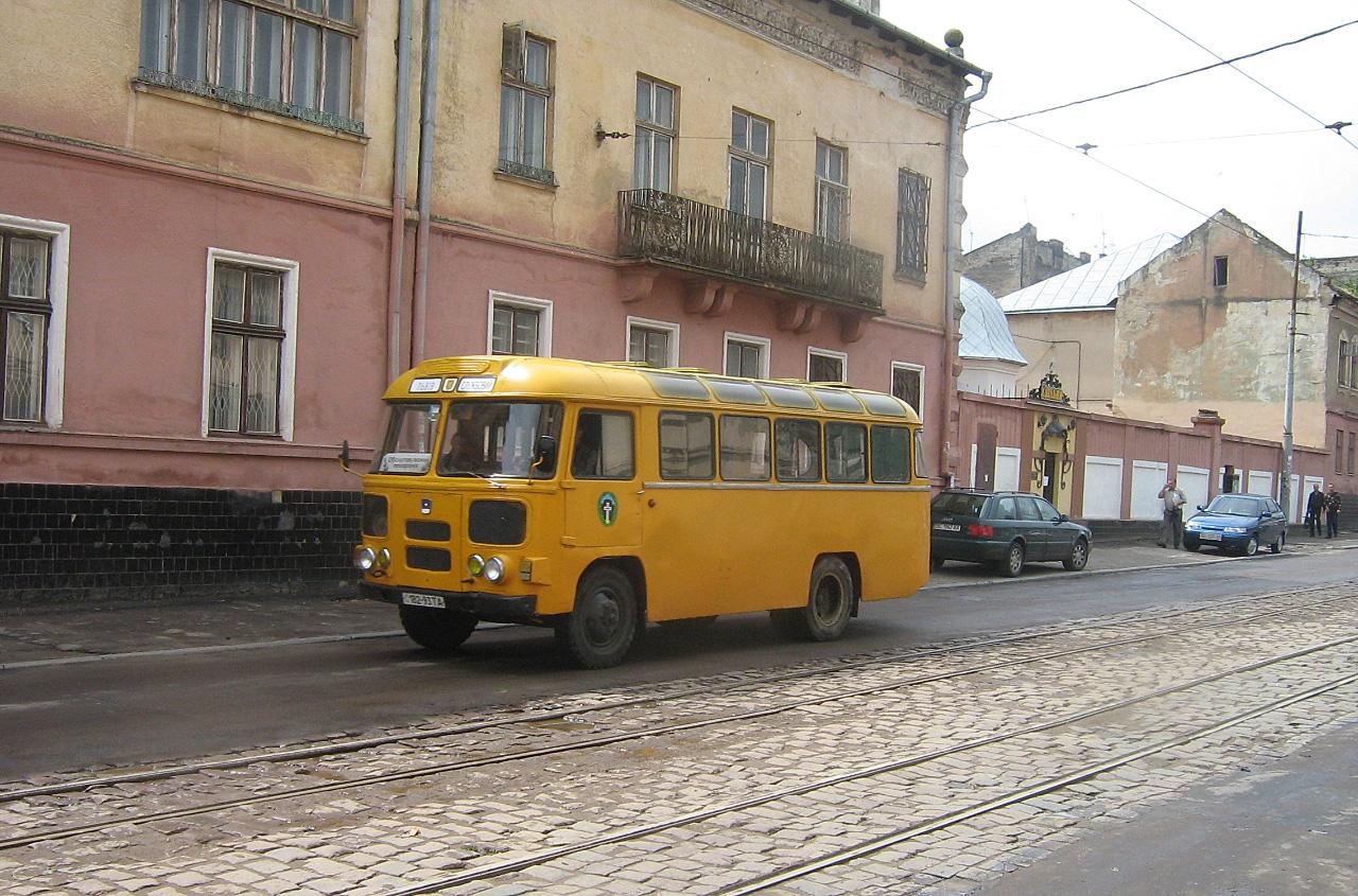 ПАЗ-672М КТ-201А №182-93 ТА. Львів