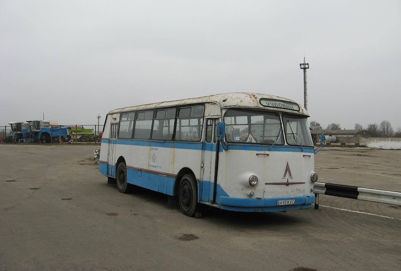ЛАЗ-695М №6493 КХС. Київська область, Миронівка