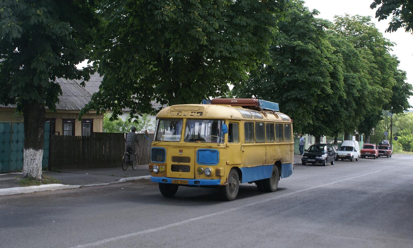 ПАЗ-672М №002-30 ВА. Житомирська область, Радомишль